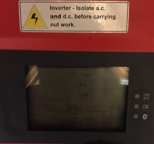 SMA no power - Faulty inverter