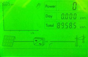 SMA inverter not generating
